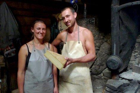 L'Etivaz kaasmakersfamilie