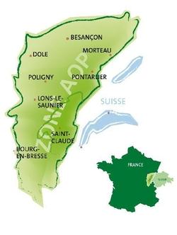 Zone AOP Comté