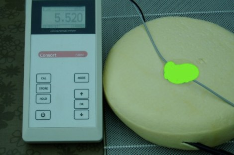 pH net onder de kaaskorst