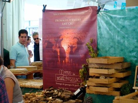 Het Slow Cheese event in Bra, Piëmonte - Italië