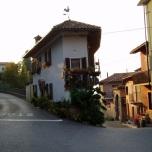 Small but beautiful ... hoekpand in het dorp Neive waar we in het kader van Slow Cheese verbleven