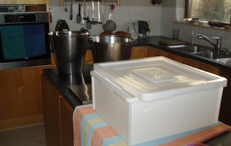 Kaas maken in de keuken