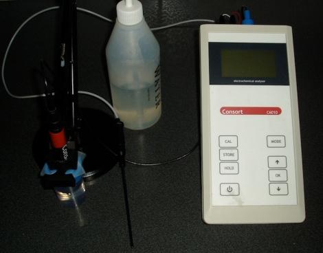 De pH meter