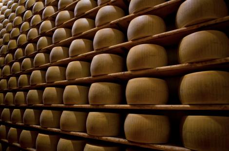 Kaas en plank vormen een symbiose