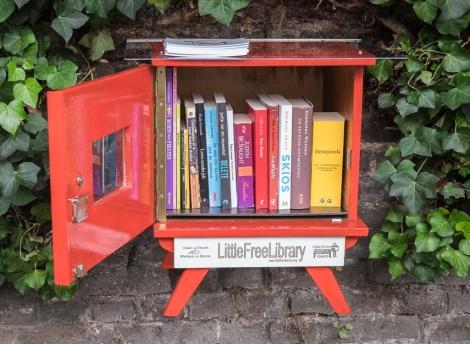 Het boekenruilkastje in Hasselt