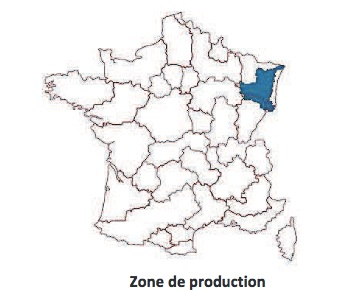 Munster, zone d'appellation d'origine protégée (AOP)