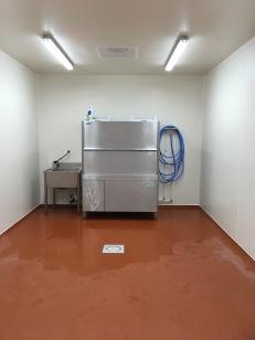 Als 40% van de werktijd reinigen en afwassen is, dan is een ruime afwaszone belangrijk