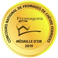 Kato wint goud op DE Franse competitie voor Fromages de Chèvre Fermiers